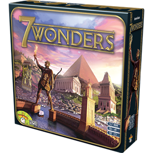 7 Wonders added to the Eclectic Game Rating System