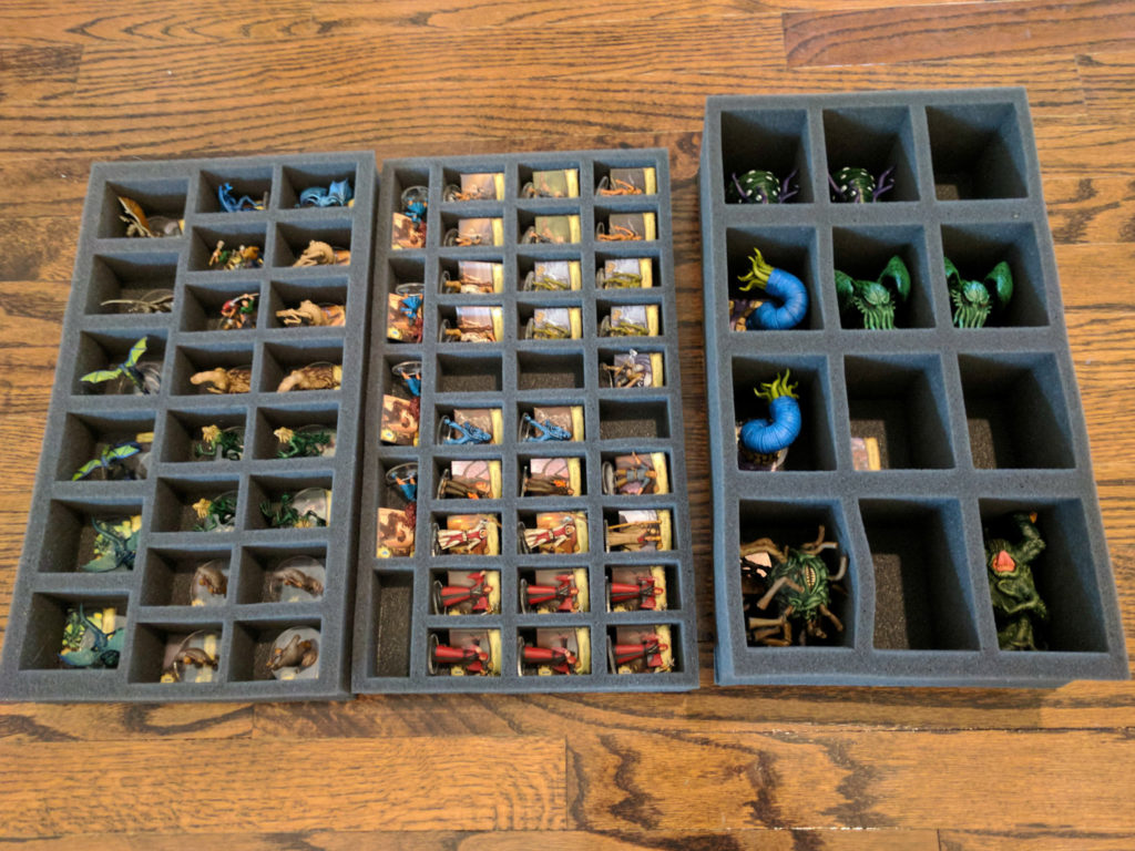How we organize and store Mansions of Madness